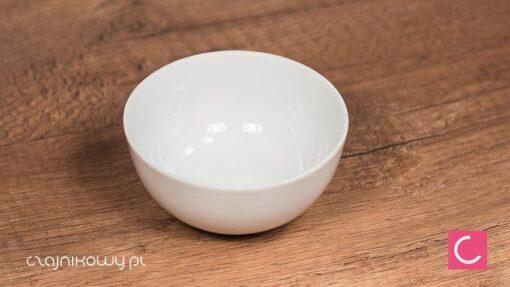 Czarka do herbaty biała klasyczna 120ml