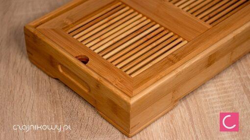 Taca do ceremonii parzenia herbaty Bamboo Tea Table Chapan
