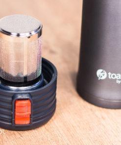 Najlepszy termos do herbaty z zaparzaczem ToasTEA 550ml