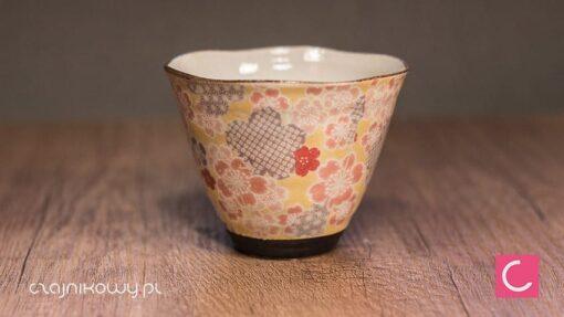 Czarka do herbaty Yuzuki różowa 200ml