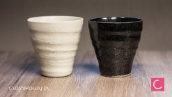 Dwie czarki do herbaty Shirokuro 280ml