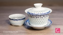 Gaiwan do herbaty Bailan 150 ml + czarka 60 ml