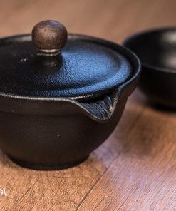 Gaiwan do herbaty Geom koreański 180ml + czarka 55ml