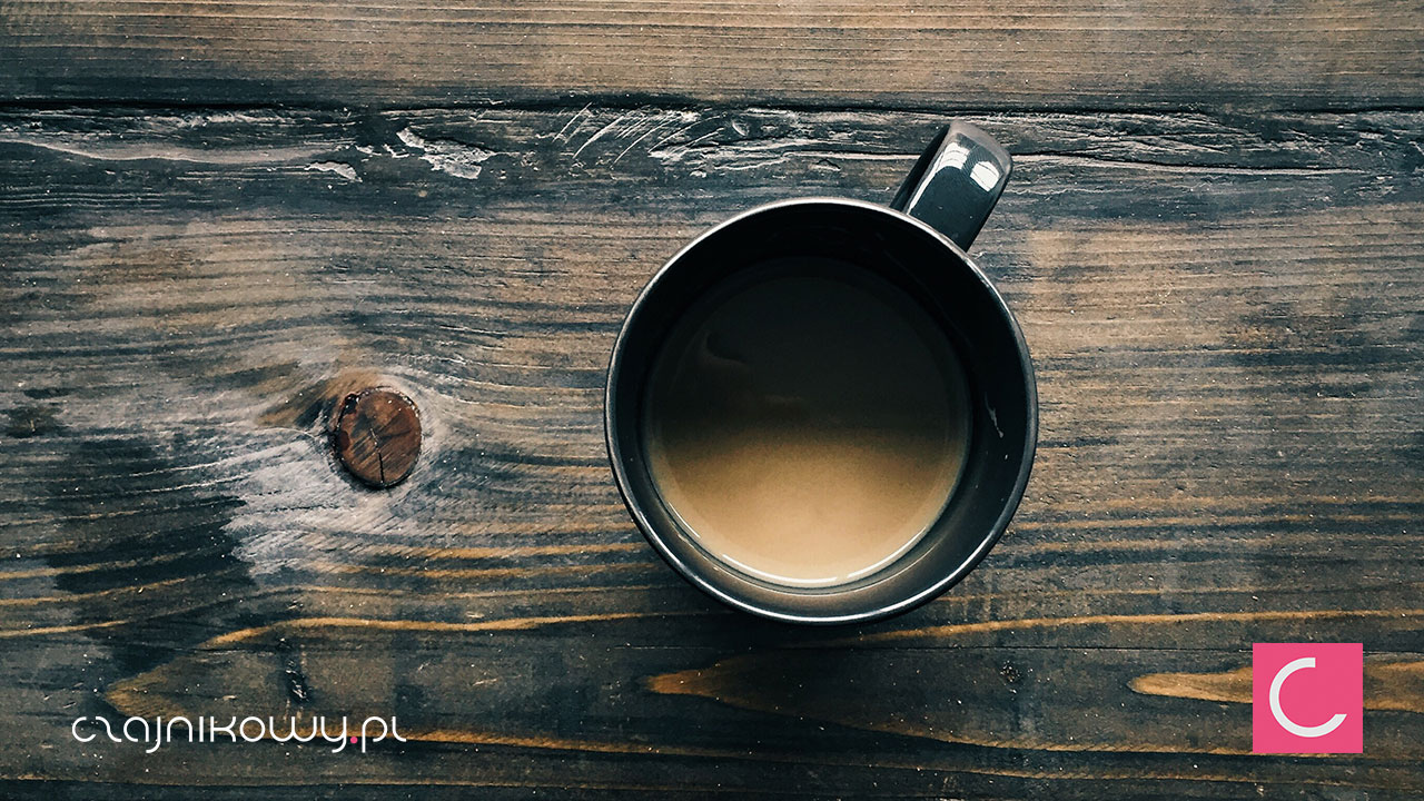 Parzenie kawy a temperatura wody - filiżanka kawy