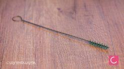 Metalowa szczoteczka, wyciorek do bombilli 20cm