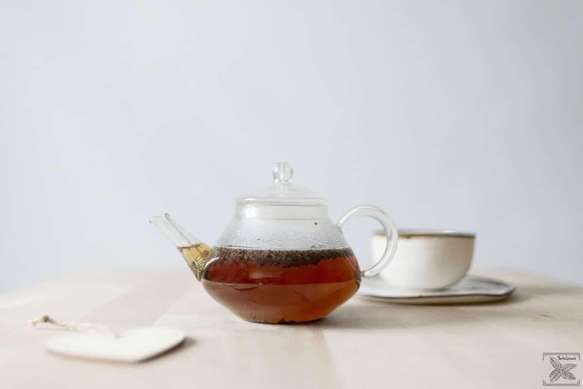 Czarna herbata indonezyjska: Sumbatra BOP: napar