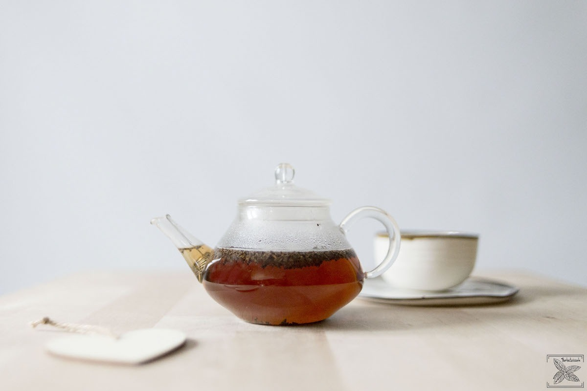 Czarna herbata indonezyjska: Sumatra BOP: napar