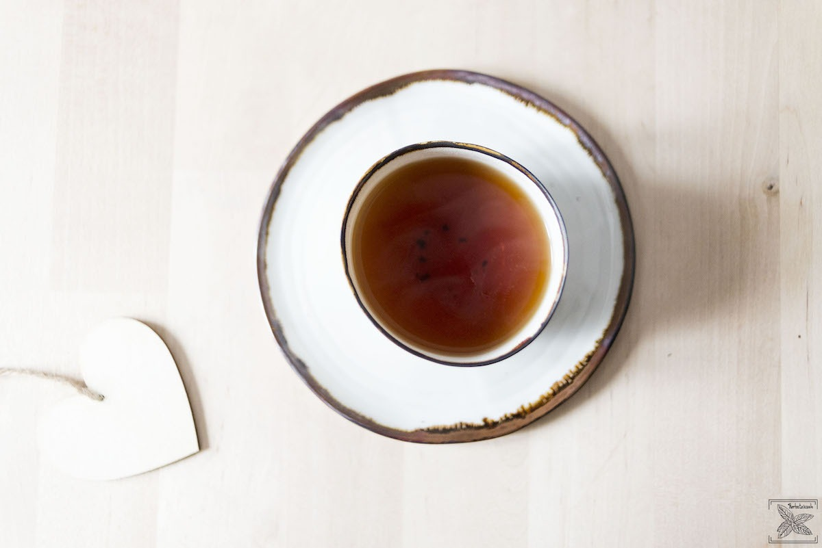 Czarna herbata indonezyjska: Sumbatra BOP: kolor naparu