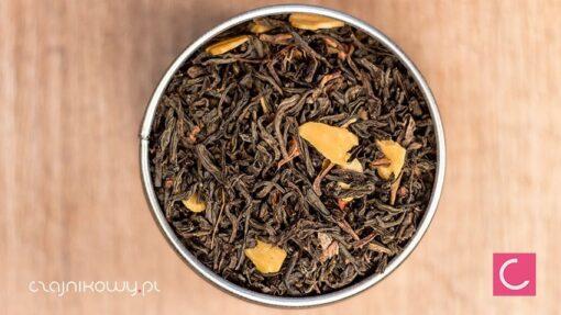 Herbata czarna orzech włoski z cynamonem organiczna