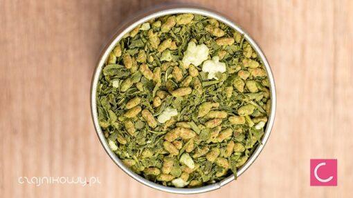 Herbata zielona Genmaicha z Matcha organiczna
