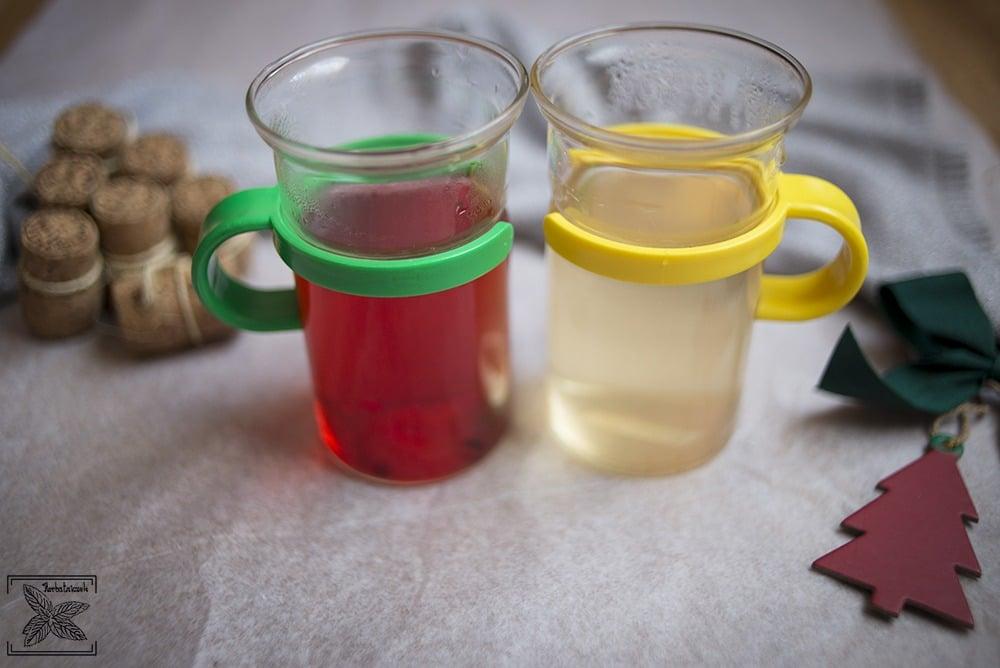 Owocowa herbata na zimę: kolory naparów