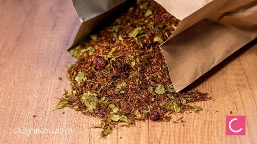 Herbata rooibos Moringa drzewo długowieczności i wiśnia