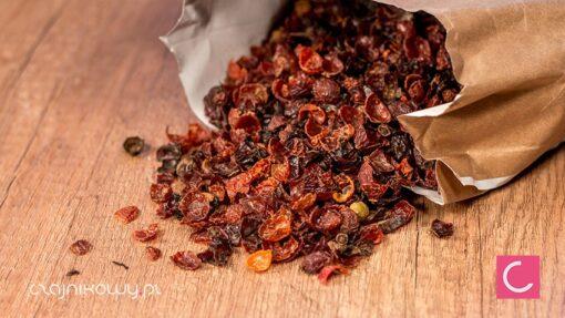 Herbata z nasion dzikiej róży