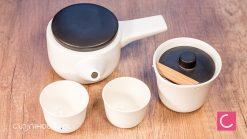 Nowoczesny zestaw do parzenia herbaty Kenda: czajnik, gaiwan, czarki