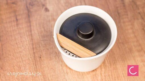 Nowoczesny zestaw do parzenia herbaty Kenda: gaiwan