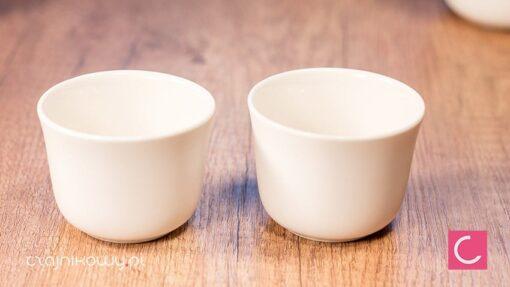 Nowoczesny zestaw do parzenia herbaty Kenda: czarki