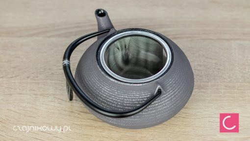 Żeliwny czajnik do herbaty Iwachu szary 500ml
