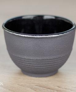 Czarka do herbaty japońska żeliwna Iwachu szara 120ml