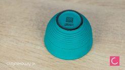 Czarka do herbaty japońska żeliwna Iwachu zielona 120ml