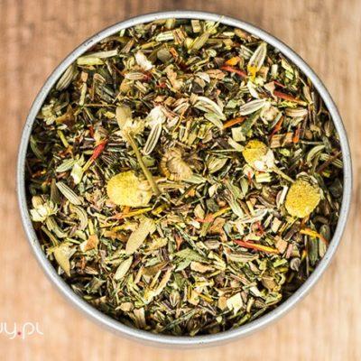 Herbata rooibos honeybush relaksująca bez aromatów