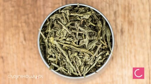 Herbata zielona Sencha bezkofeinowa. Bez teiny