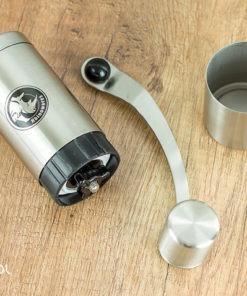 Młynek do kawy ręczny Rhinowares + adapter do aeropressu