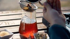 Herbata z szafranem z Kuwejtu