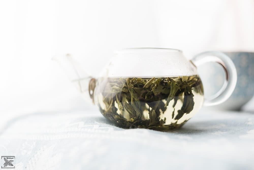 Herbata zielona Lu An Gua Pian: drugie parzenie