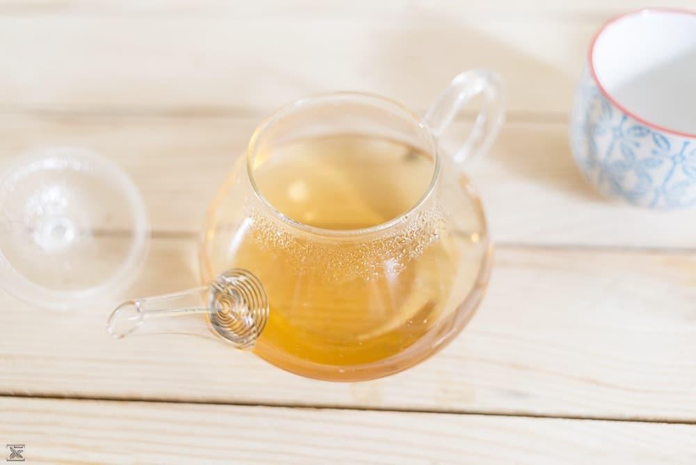 Biała herbata z Malawi - Malawi Thyolo Peony: kolor naparu