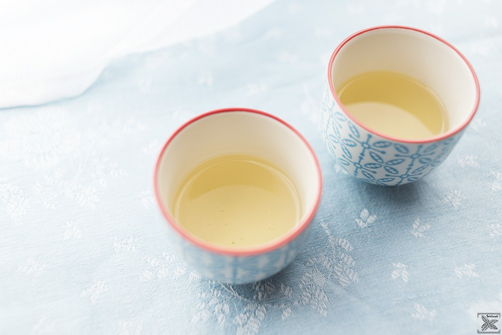 Herbata zielona Lu An Gua Pian: napar z pierwszego parzenia