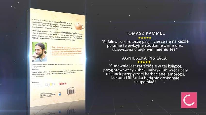Książka Czajnikowy.pl - dobra herbata, autor: Rafał Przybylok