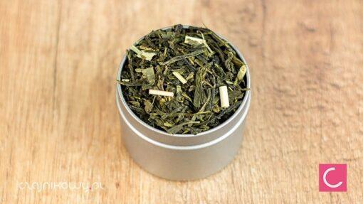 Herbata zielona cytrynowa organiczna