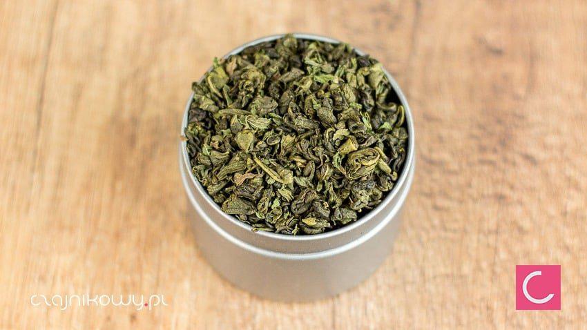 Herbata zielona z miętą marokańska organiczna