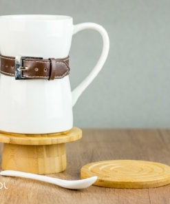 Zestaw do parzenia herbaty porcelanowy bambusowy Luuk