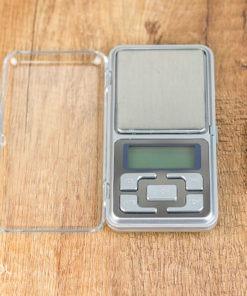 Dokładna waga do herbaty srebrna 0,1g max 500g