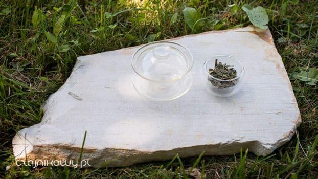 Organiczna zielona herbata Lung Ching