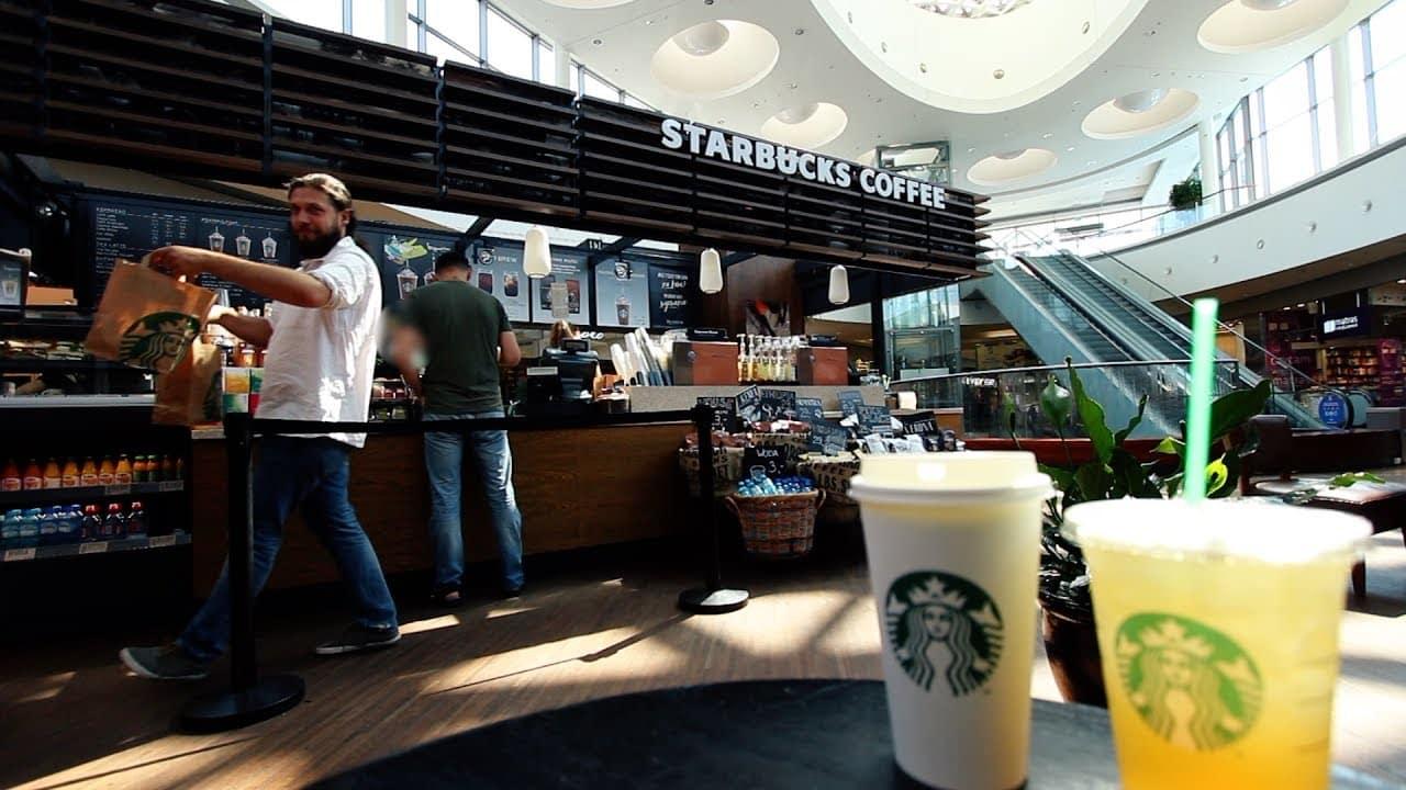 Test herbaty ze Starbucksa