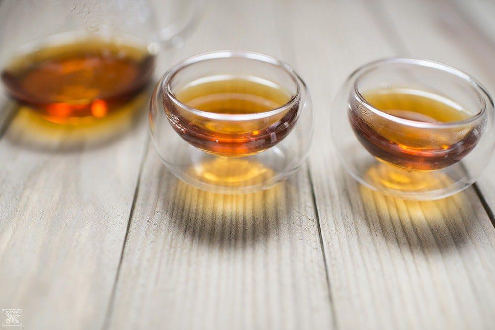 Czarna herbata z Kenii GFOP Milima: drugie parzenie