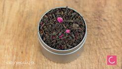 Herbata czarna z różą naturalna
