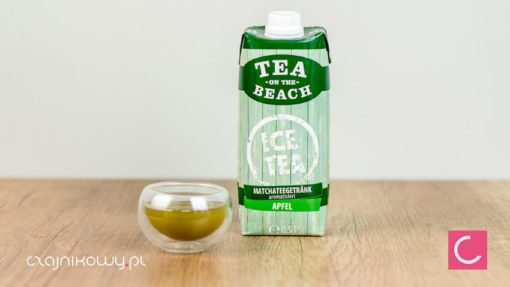 Herbata Tea on the Beach Matcha jabłkowa 0,5l