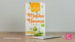 Herbata zielona Matcha bananowa 2g organiczna