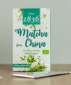 Herbata zielona Matcha chińska 2g organiczna