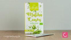 Herbata zielona Matcha cytrynowa 2g organiczna