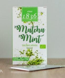 Herbata zielona Matcha miętowa 2g organiczna