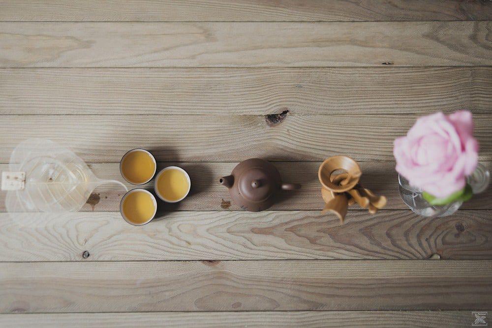 Herbata Liu Pan Shui Red Oolong: drugie parzenie