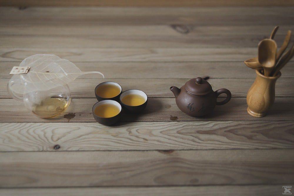 Herbata Liu Pan Shui Red Oolong: pierwsze parzenie