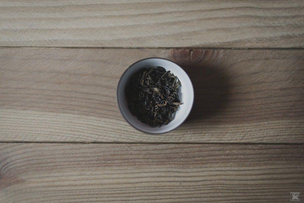 Herbata Liu Pan Shui Red Oolong: susz