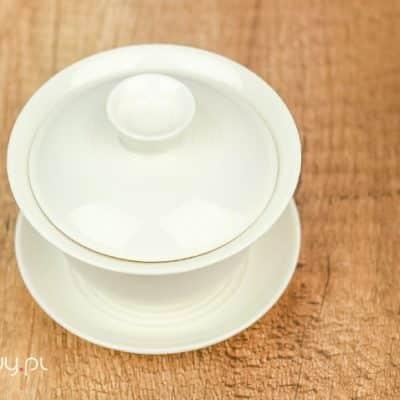 Gaiwan biały do herbaty porcelanowy 70ml