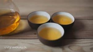 Herbata Liu Pan Shui Red Oolong, parzenie