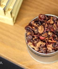 Herbata owocowa jabłkowa organiczna bez dodatku aromatów